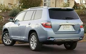 2008 Toyota Highlander Hybrid - Information and photos - ZombieDrive
