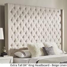 tall king headboard. Shop Naples Wingback Button Tufted Tall Headboards By INSPIRE Q Artisan - On Sale Free Shipping Today Overstock.com 19511535 King Headboard