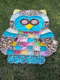 Best 25+ Owl quilt pattern ideas on Pinterest | Owl quilts, Owl ... & Owl Rag Quilt! While the link is to Etsy - Simplicity makes the pattern! Adamdwight.com
