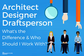 Designer Draftsman Whats The Difference Between An Architect A Designer And