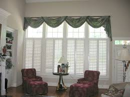 Special Valances For Living Room Windows With Adorable Draping Styles :  Excellent Valances For Living Room