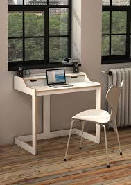 Desk White Leather Chair Computer Desk Ideas For Small Spaces White Small  Desk