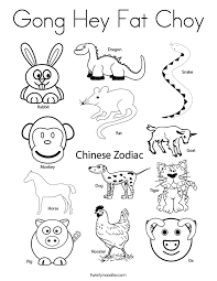 Small Picture Happy Chinese New Year ColoringChinesePrintable Coloring Pages