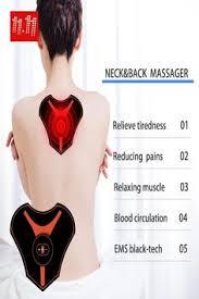 Electronic <b>Neck Muscle</b> Trainer <b>Fitness Massage</b> Stimulator Portable ...