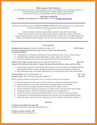 Medical Assistant Resumes Examples 8 Medical Assistant Resumes
