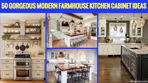 50 Gorgeous Modern Farmhouse Kitchen Cabinet Ideas Decoraisocom