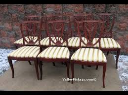 vine gany shield back dining room chairs