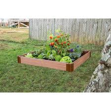 composite raised garden bed. Fine Bed Frame It All 48in W X L 55in For Composite Raised Garden Bed S