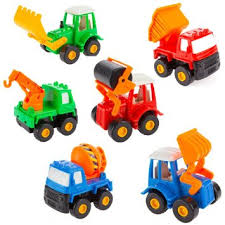 toy cars and trucks. Get Quotations · Fajiabao Kids Push Back Car Set Toy Mini Digging Mixer Truck Dump And Cars Trucks