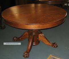 round oak pedestal dining table outstanding antique round oak pedestal dining table room tables