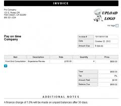 Create A Invoice Online Freeletter Findby Co