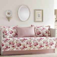 lidia 5 piece red daybed set