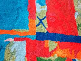 colorful hand tufted wool rug fr 112