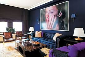 40 Rooms To Create With Navy Blue Walls Mesmerizing Navy Blue Living Room