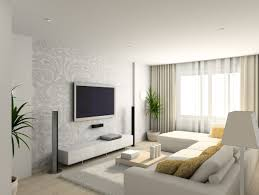 White Living Room Interior Design