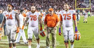 Clemson Ol Coach Robbie Caldwell Named To Furman Hall Of Fame