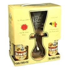 pauwel kwak belgian ale gift set with gl stand