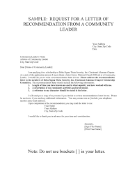 Writing Recommendation Letter Sorority Example New Start Your