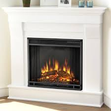 real flame cau photos of corner electric fireplaces fireplace heat