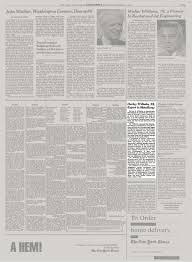Harley Wilhelm, 95, Expert in Metallurgy - The New York Times