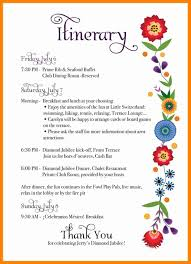Birthday Itinerary Template 24 birthday itinerary template cashier resumes 1