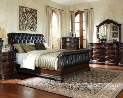 Modern Leather Bedroom Furniture Sets : Stillwater Scene ...