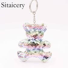 <b>Sitaicery New</b> Fashion Tassel Key Chain <b>Women</b> Cute Tassel ...