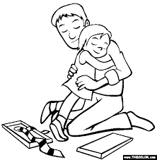 Small Picture Fathers Day Online Coloring Pages Page 1