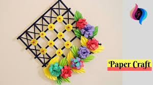 diy wall decoration ideas with paper craft ways to decorate your for paper craft