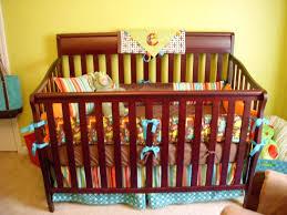 image of dinosaur crib bedding design