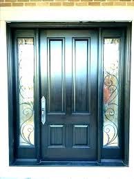 front door glass panels replacement inserts exterior panel cost d