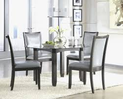 four chair dining table formal dining room table modern glass dining table set dark wood dining room sets