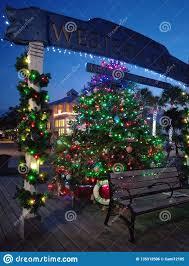 Key West Lighting And Design Christmas Tree Lights Editorial Photo Image Of Tree 135312506