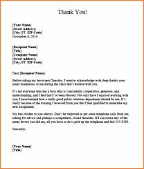 How To Write A Termination Letter To An Employer Appreciation letter boss after resignation helpful photoshots thank 63