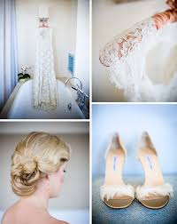 jessica matt's modern real wedding in san francisco green Modern Wedding Flats lace wedding dress modern wedding shoes