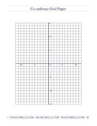 Free Graph Paper Template Printable Grid Places To Find Quadrant 4