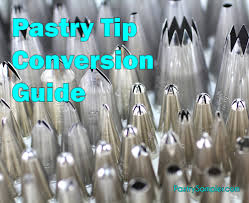 Pastry Tip Conversions Coverting Different Brands Of Tips