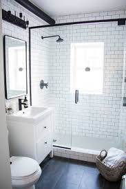 traditional style antique white bathroom: black and white bathroom makeover a bathroom with a mix of modern and vintage elements