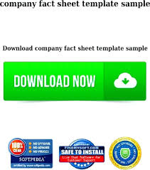 Company Fact Sheet Templates Template Corporate Free Download – Rigaud