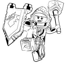 Mercilessly Beautiful Nexo Knights Coloring Pages Ipoiclub