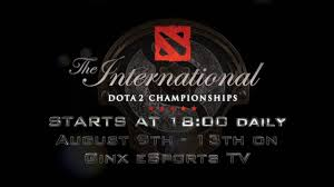 dota 2 the international live on ginx esports tv promo youtube