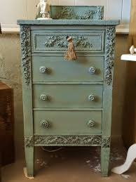 pictures of chalk painted furnitureA French Touch  Revamping and repurposing vintage furniture and a