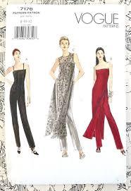 Jumpsuit Pattern Vogue Mesmerizing Vogue 48 Women's Jumpsuit Pattern With Tunic Sewing Patterns