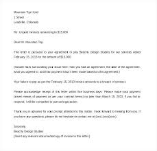 Sample Invoice Letters Sample Invoice Letter For Payment Sample Invoice Cover Letter