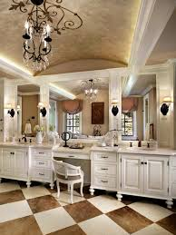 bathroom vanity table and chair. bathroom. large white wooden bathroom vanity with makeup table having three rectangle mirror and chair o
