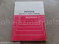 toyota supra repair manual 1988 toyota supra electrical wiring diagram repair manual oem