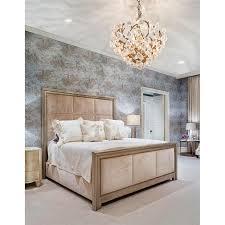 Silver Leaf Bedroom Furniture Corbett Lighting 211 47 Lily 6 Light Pendant In Enchanted Silver Leaf