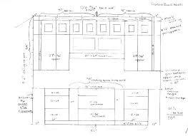 Standard Cabinet Door Depth Kitchen Cabinets Sizes Chart