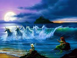 Mermaids Wallpapers Art Pinterest Best Unicorns and mermaids.