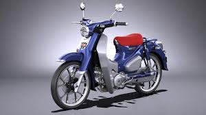 Even with great strides made towards increasing the safety of motor racing, fundamentally it's still a dangerous sport. Honda Super Cub C125 2019 3d Model
